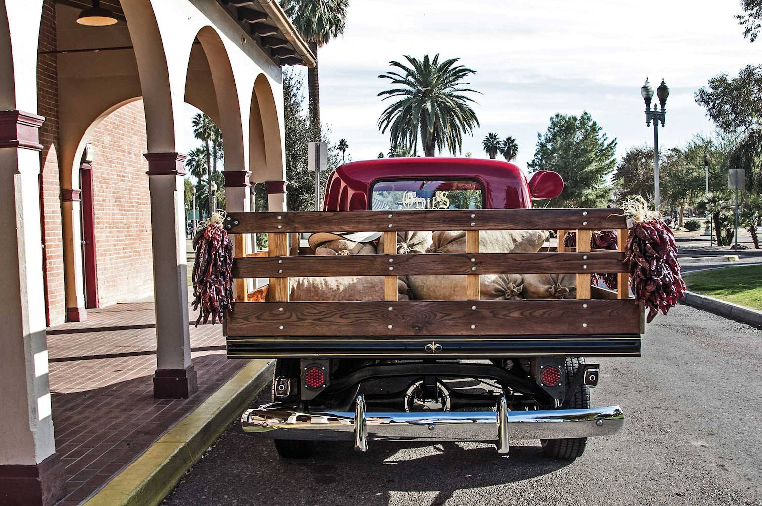 004 1949 chevy 3100 stake bed stake gate