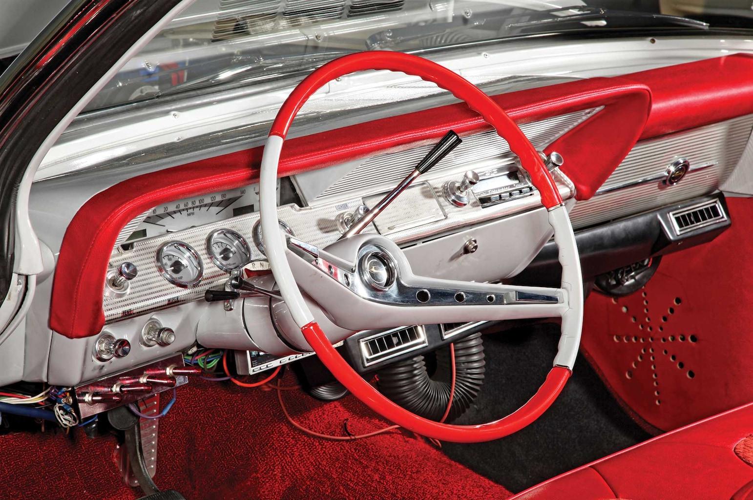 004 1962 chevrolet impala convertible steering wheel