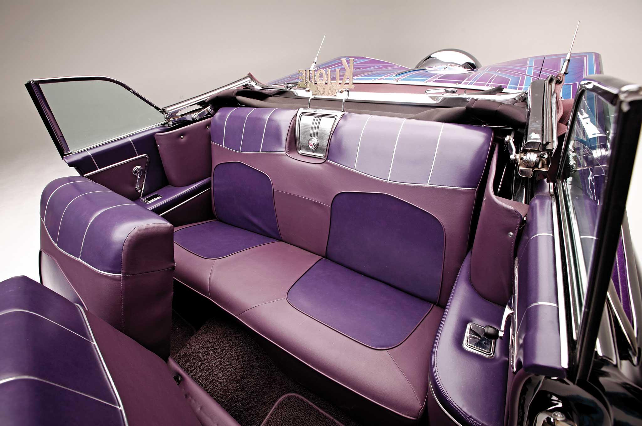 007 1959 chevrolet impala convertible custom backseats