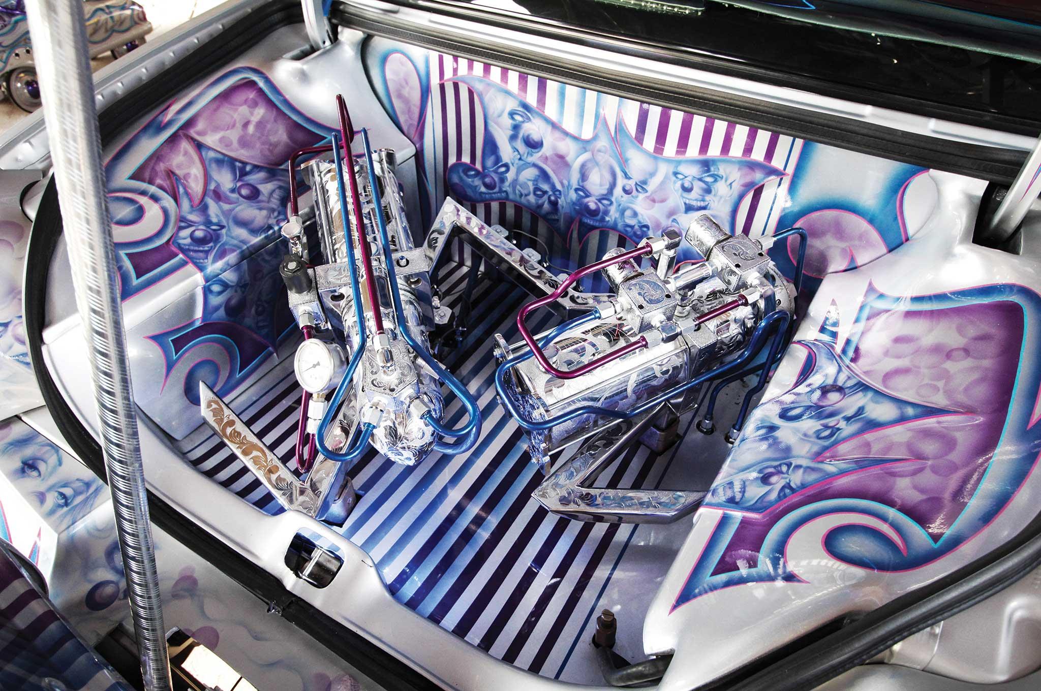 007 1999 lincoln town car black magic hydraulic pumps
