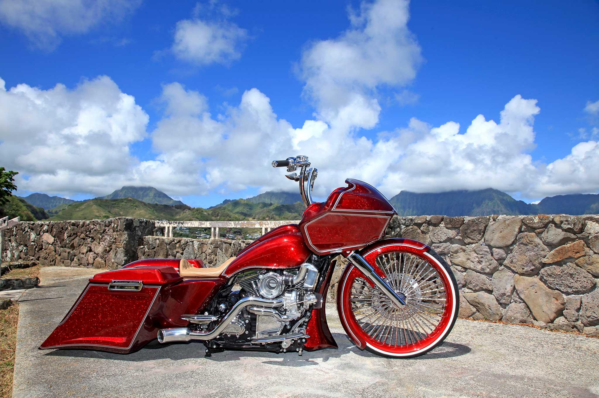 007 2013 harley davidson road glide side profile