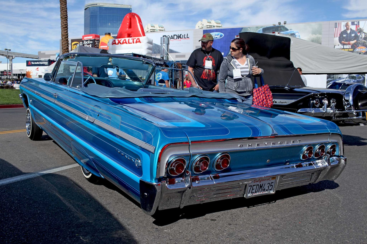 007 lowriders at sema 2015 luis lemus 1964 chevrolet impala convertible