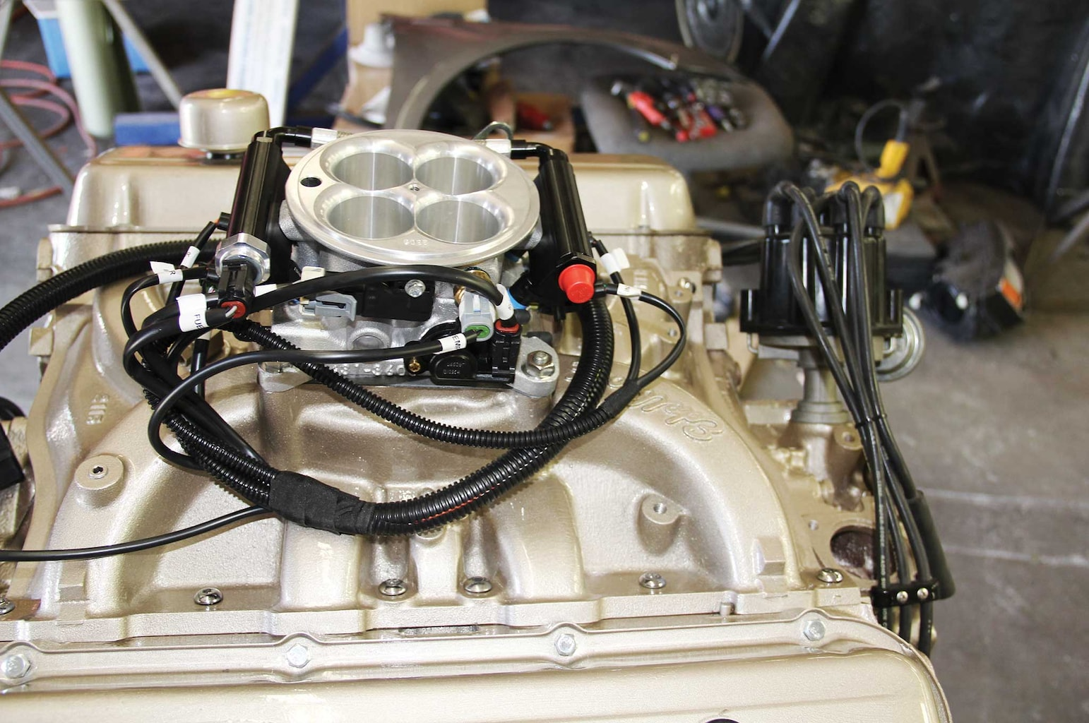 009 e street efi system conversion part 1 wiring harness installation