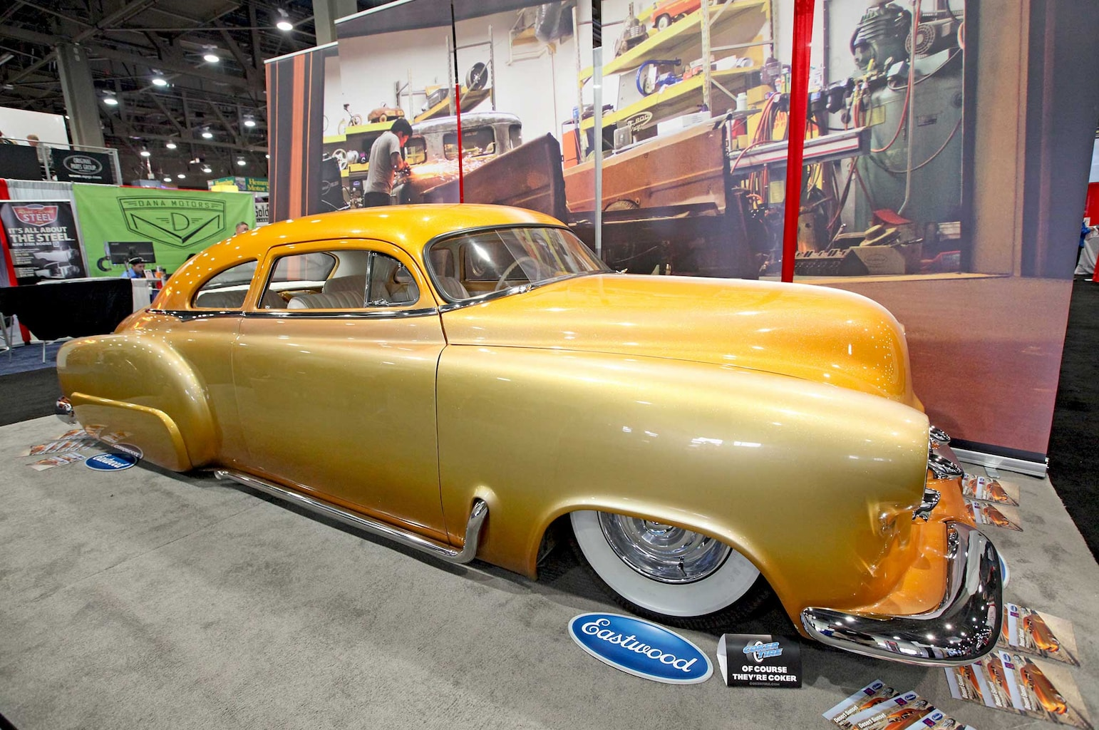 009 favorite 5 at sema 2015 gene winfield 1952 chevy kustom