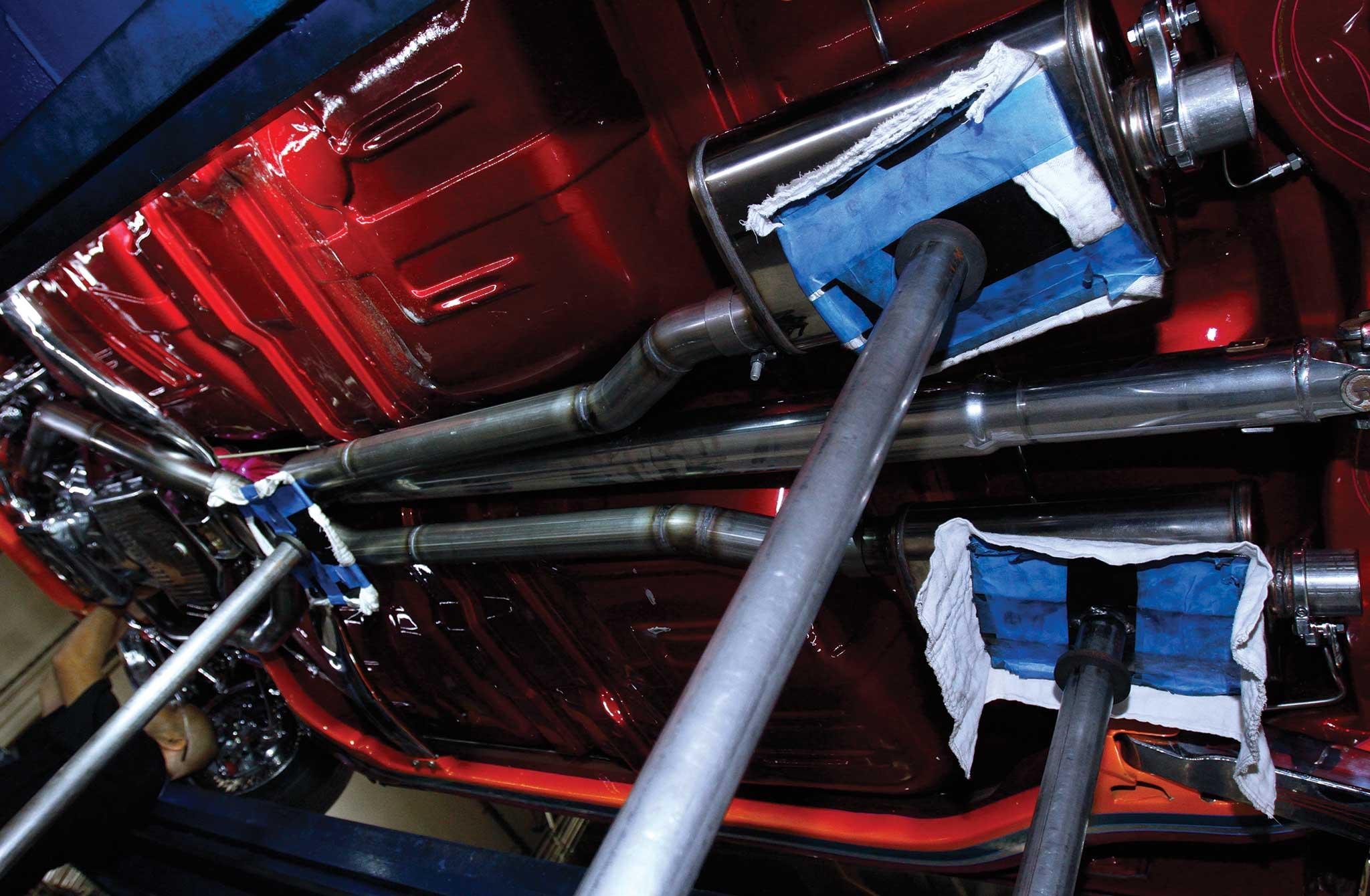 009 magnaflow exhaust install stainless steel mufflers