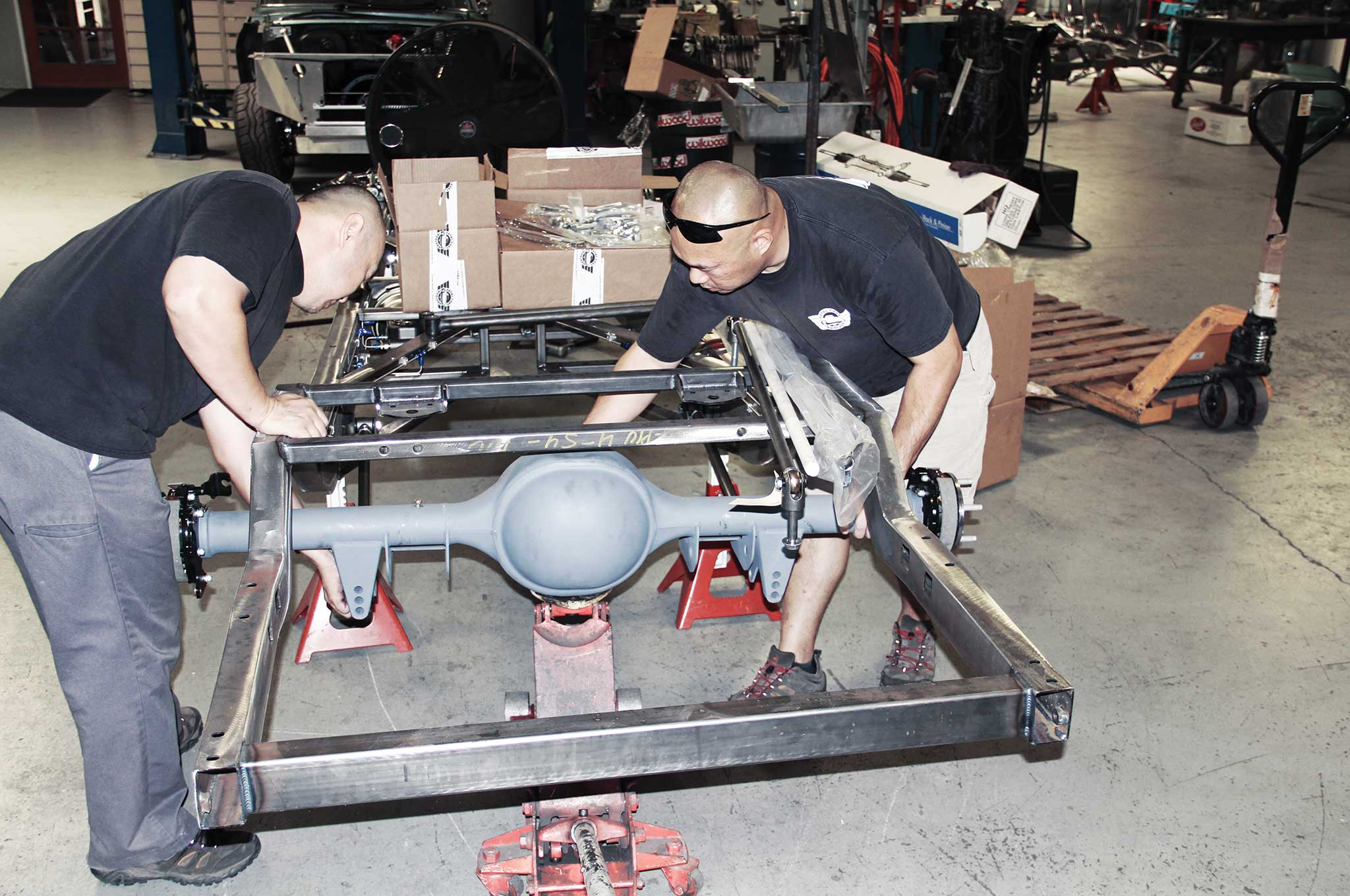 010 assembling a tci truck frame wilwood disc brake system install