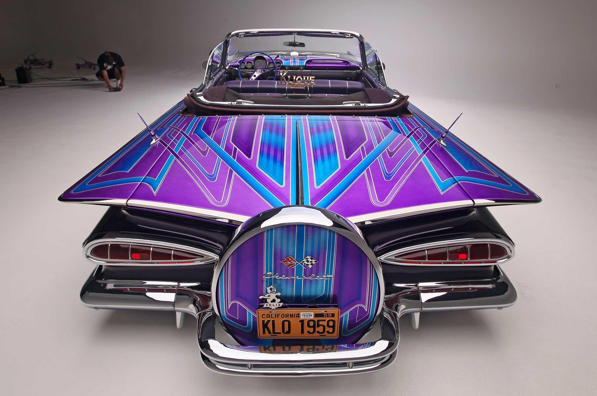 013 1959 chevrolet impala convertible rear bumper