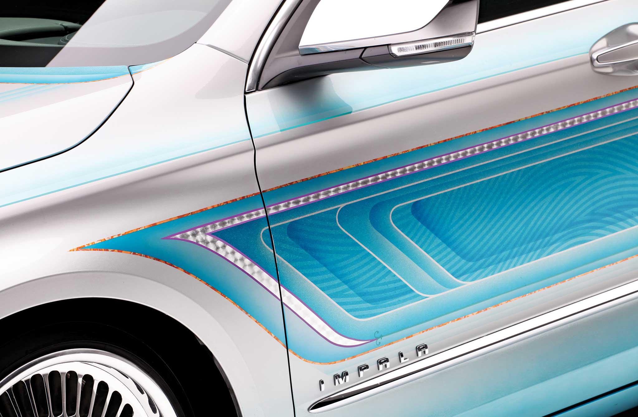 013 2014 chevrolet impala custom door graphics