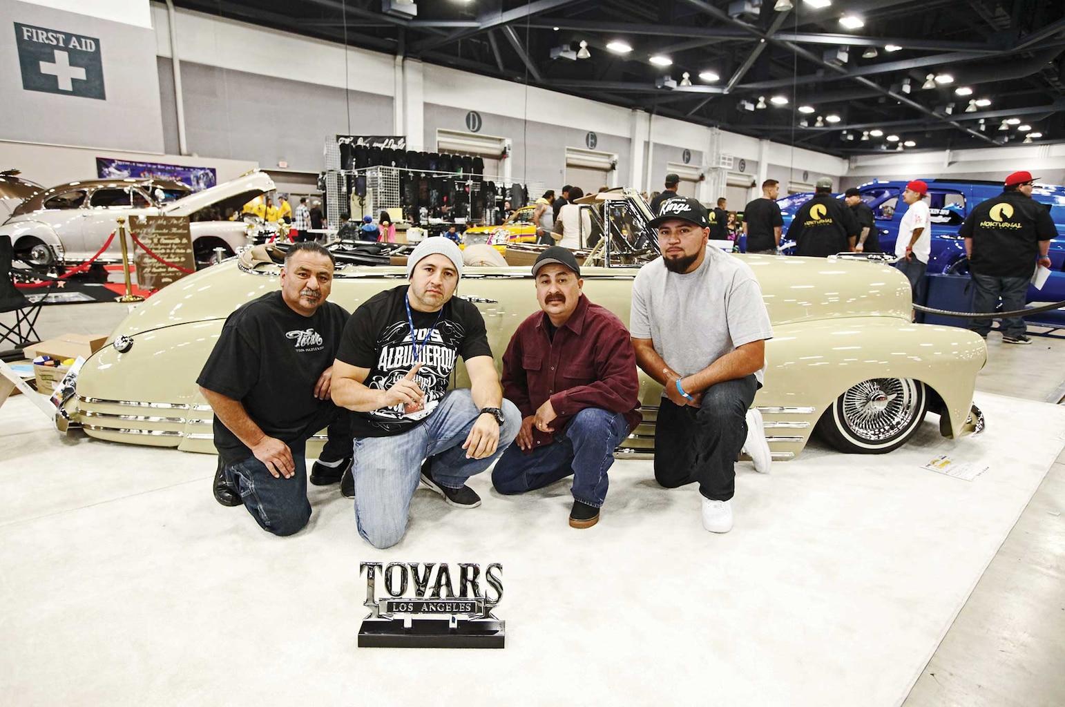 Tovars visit New Mexico