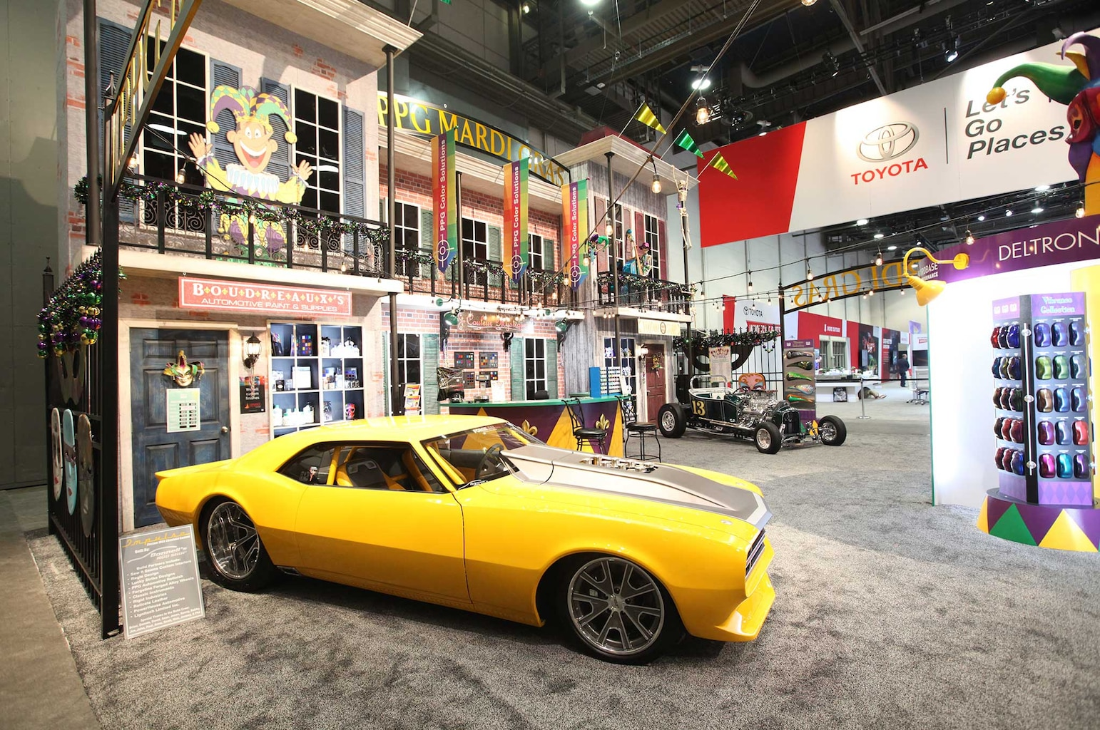 014 painters at sema 2015 ppg camaro
