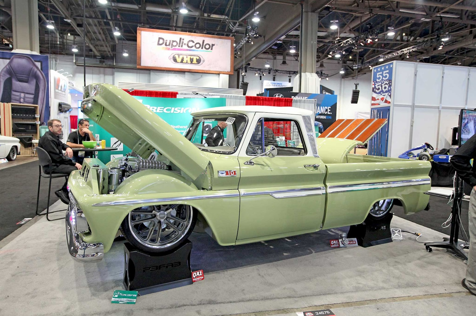 015 favorite 5 at sema 2015 mike slosh 1965 chevy c10