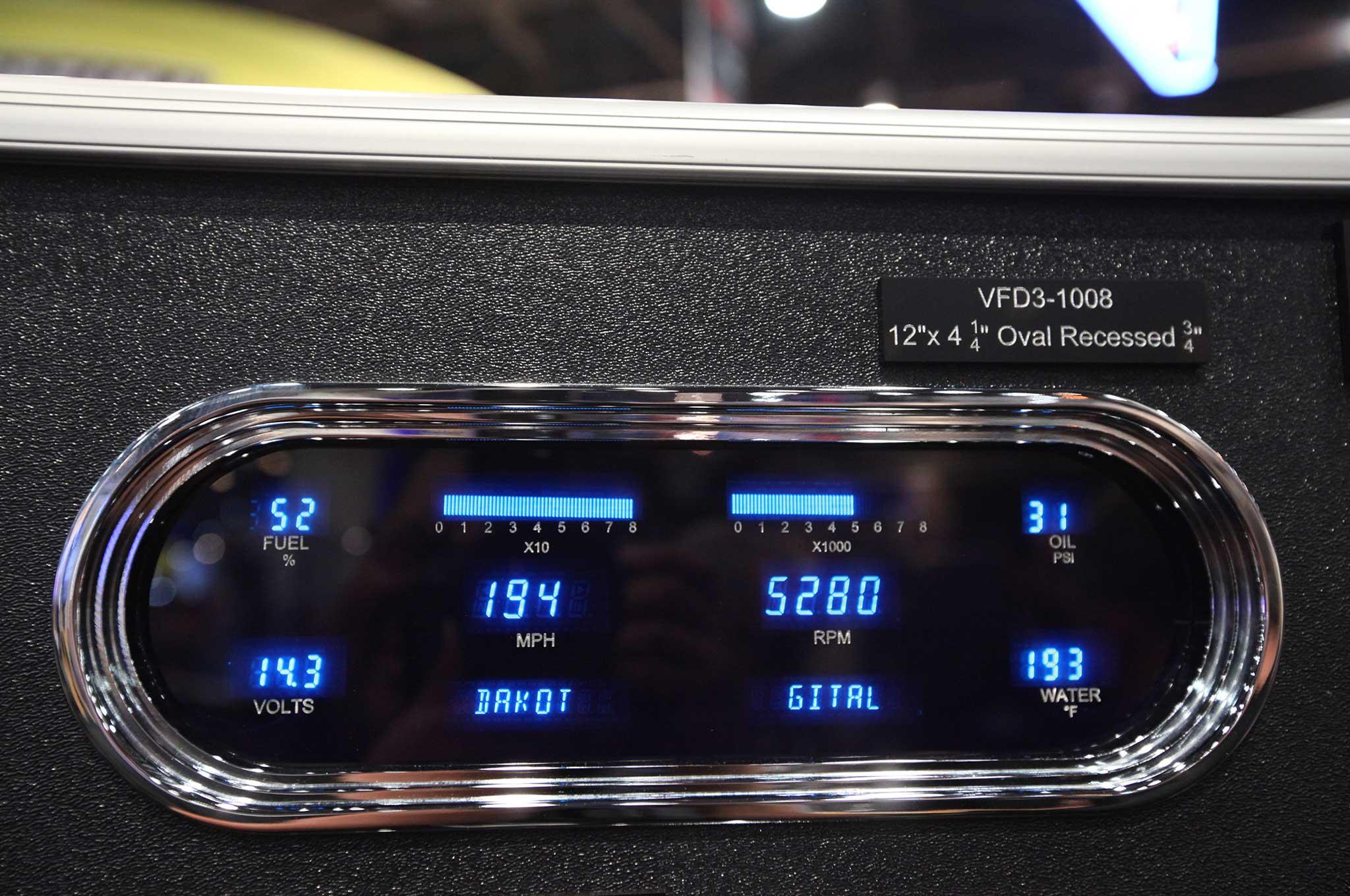 015 interior necessities at sema 2015 dakota digital gauges
