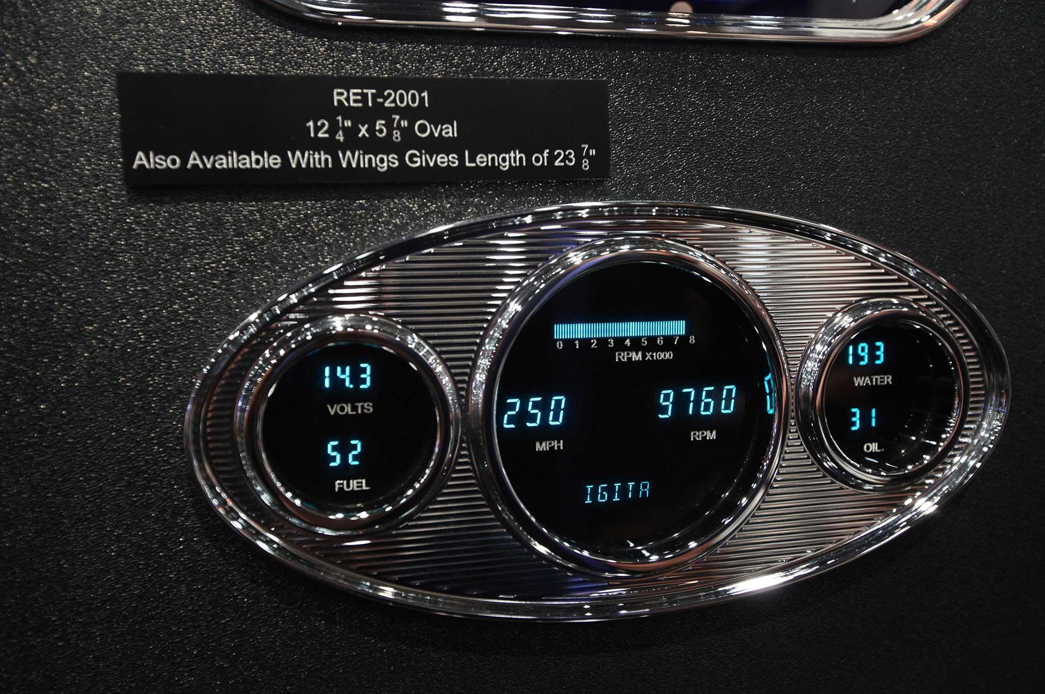016 interior necessities at sema 2015 dakota digital gauges