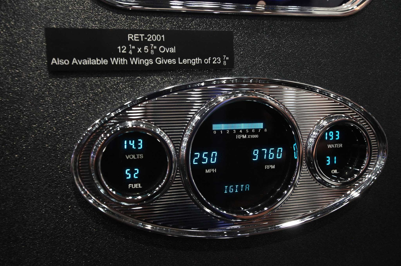 016 interior necessities at sema 2015 dakota digital gauges