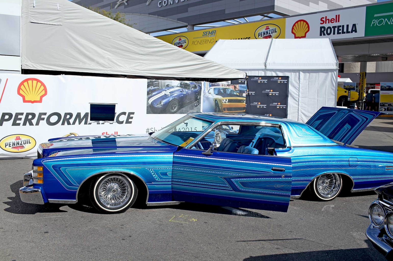 016 lowriders at sema 2015 rudy sandoval 1973 ford ltd