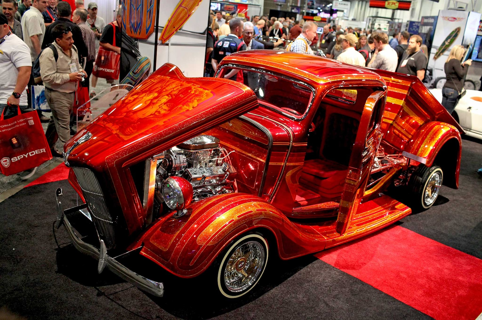 026 lowriders at sema 2015 sal sierra 1936 ford pickup