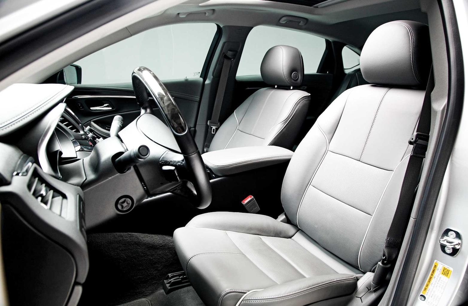 030 2014 chevrolet impala front seats