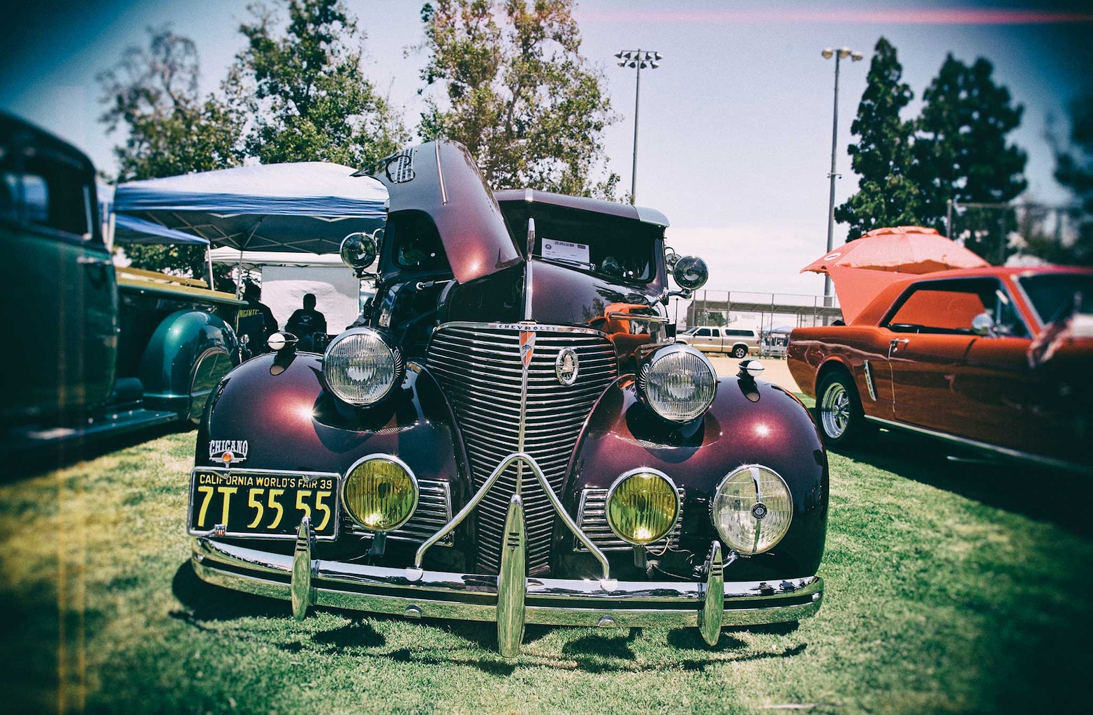 002 13th annual imperials car show and concert chevy master deluxe
