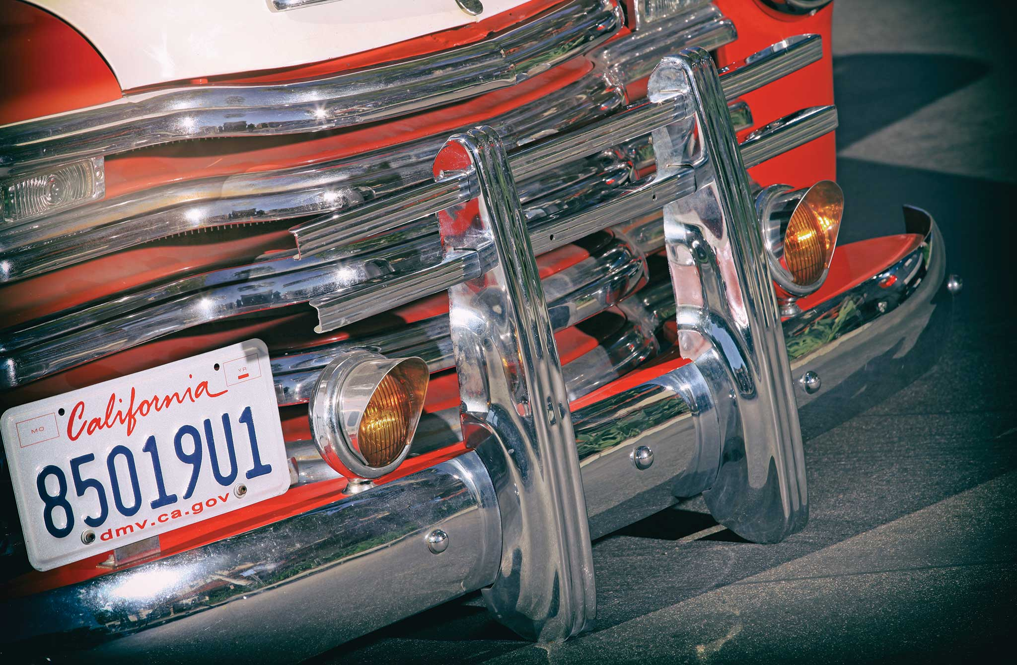 004 1951 chevrolet 3100 front bumper