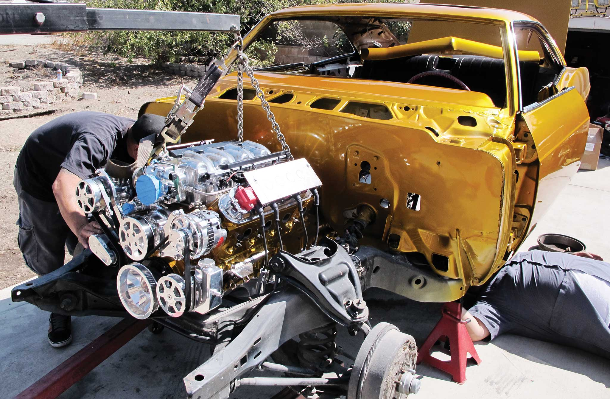 Building An Ls1 Into A Show Engine Lowrider