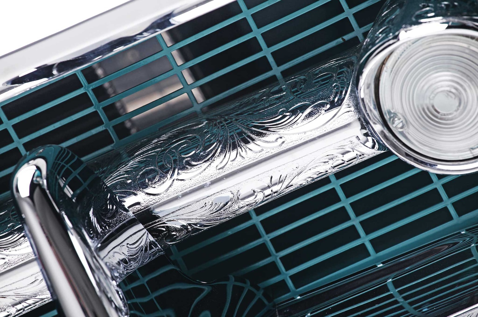 1957 chevrolet bel air front grille 003