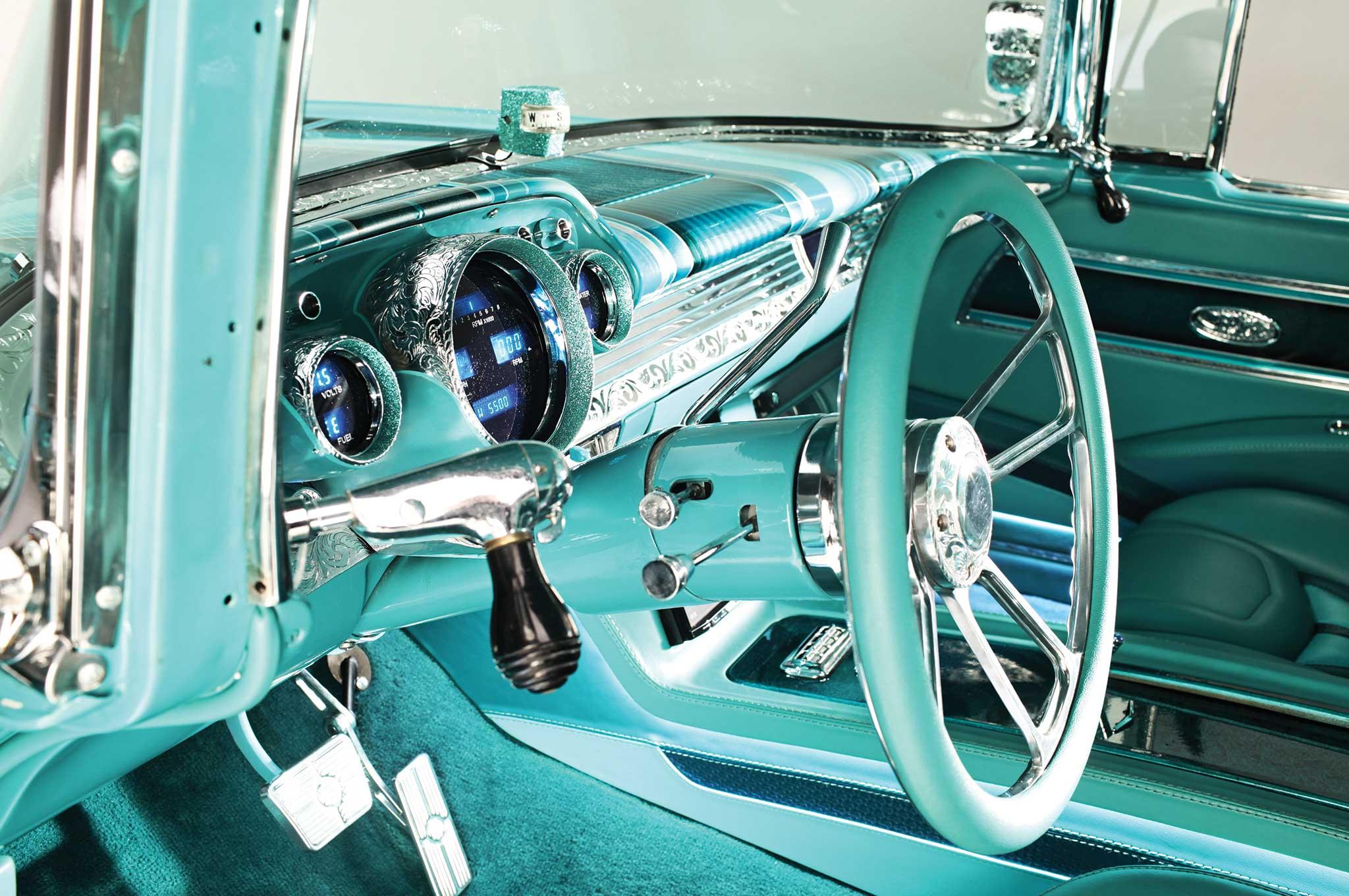 1957 chevrolet bel air steering column 004