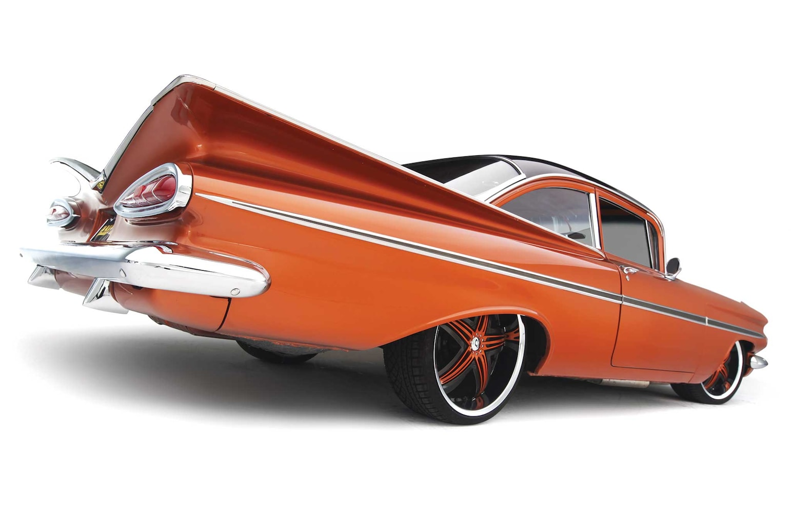 """When your classic goes extreme, Continental Extreme Contact DWS. An exceptional all-season """"Bel Air"""" type tire."""