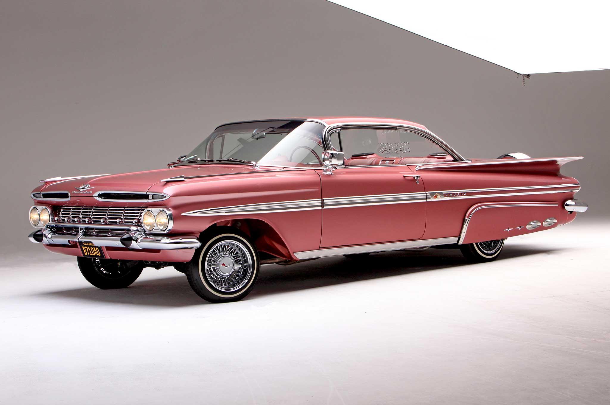 Cadillac Convertible 2015 >> 1959 Chevrolet Impala - Pinky's '59 - Lowrider