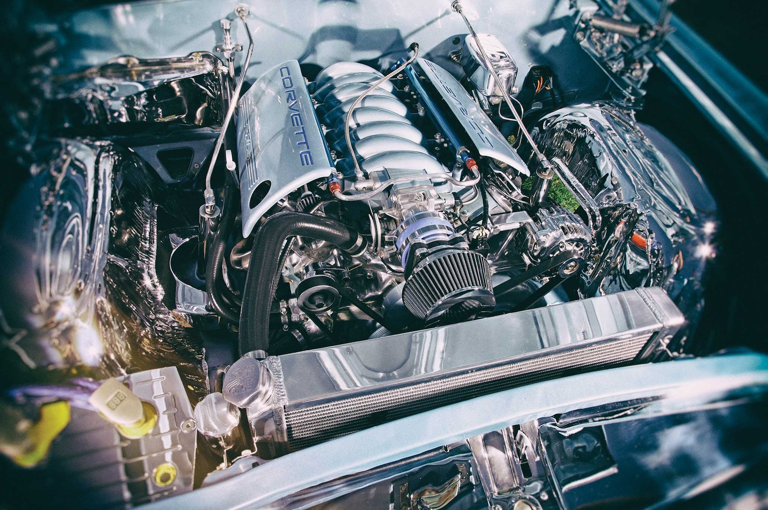 1963 chevrolet impala ls1 engine 005