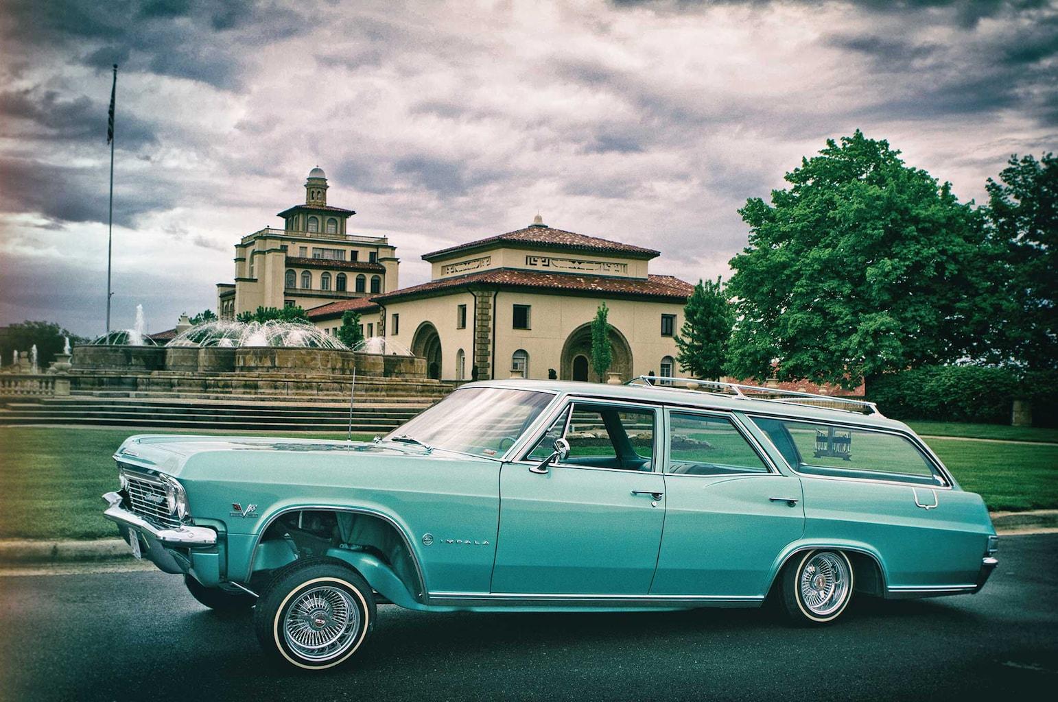 1965 chevrolet impala wagon driver side profile 002