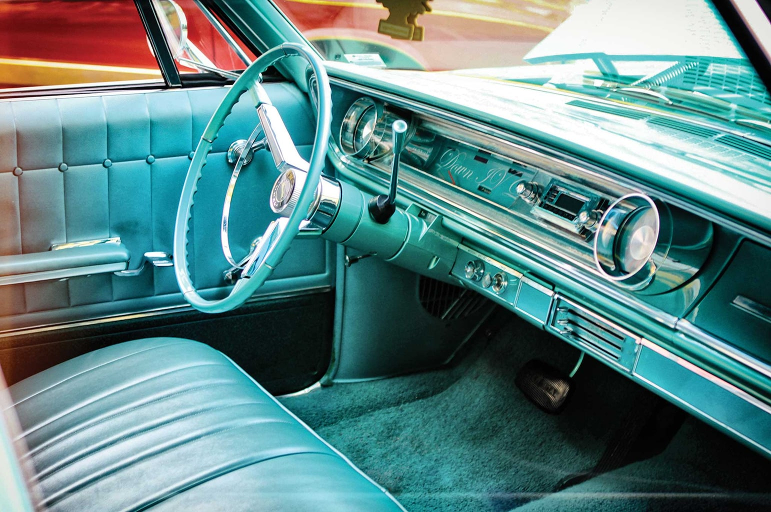 1965 chevrolet impala wagon factory steering wheel 005