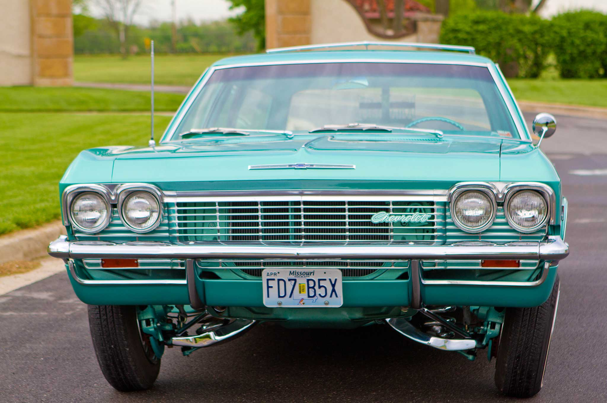 1965 chevrolet impala wagon front bumper 011