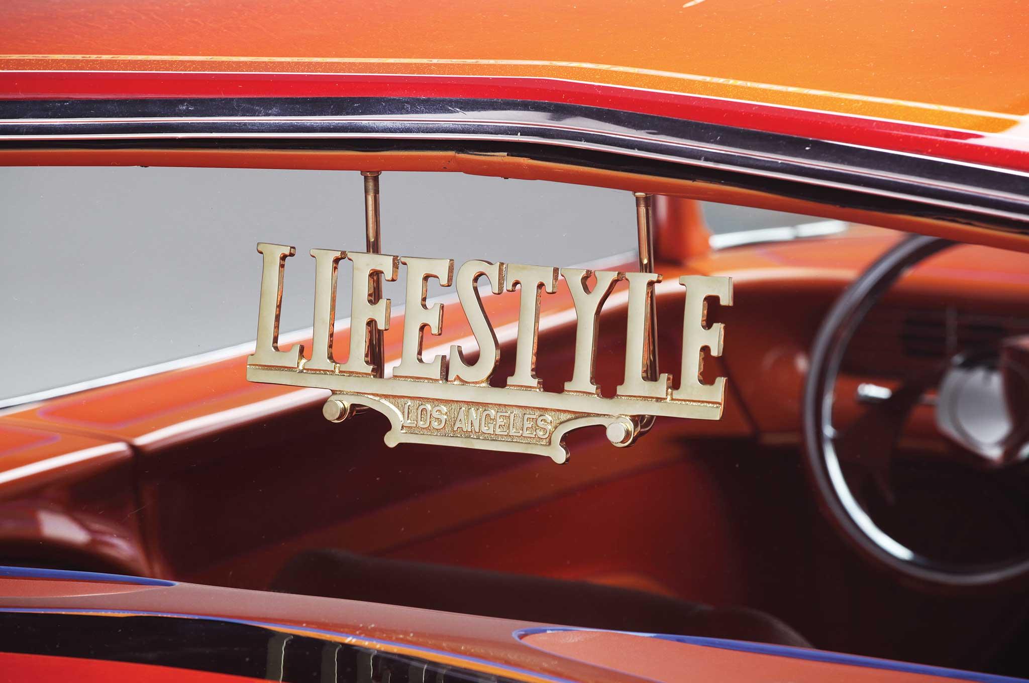 1972 chevy caprice lifestyle club plaque 007