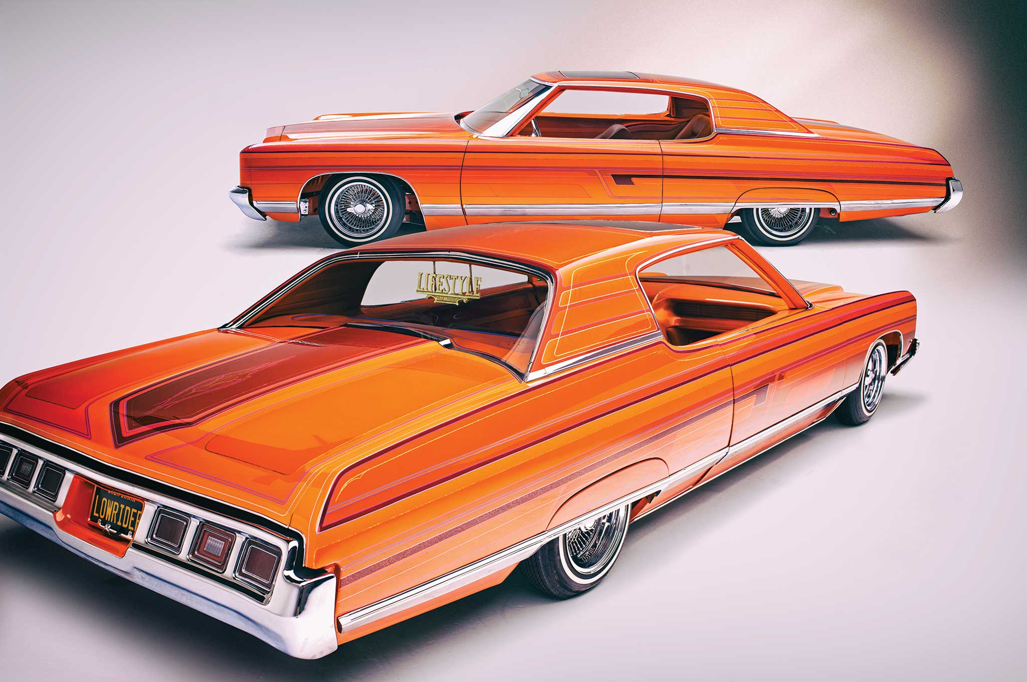The best of both worlds—a '72 Caprice with a '73 rear bumper.