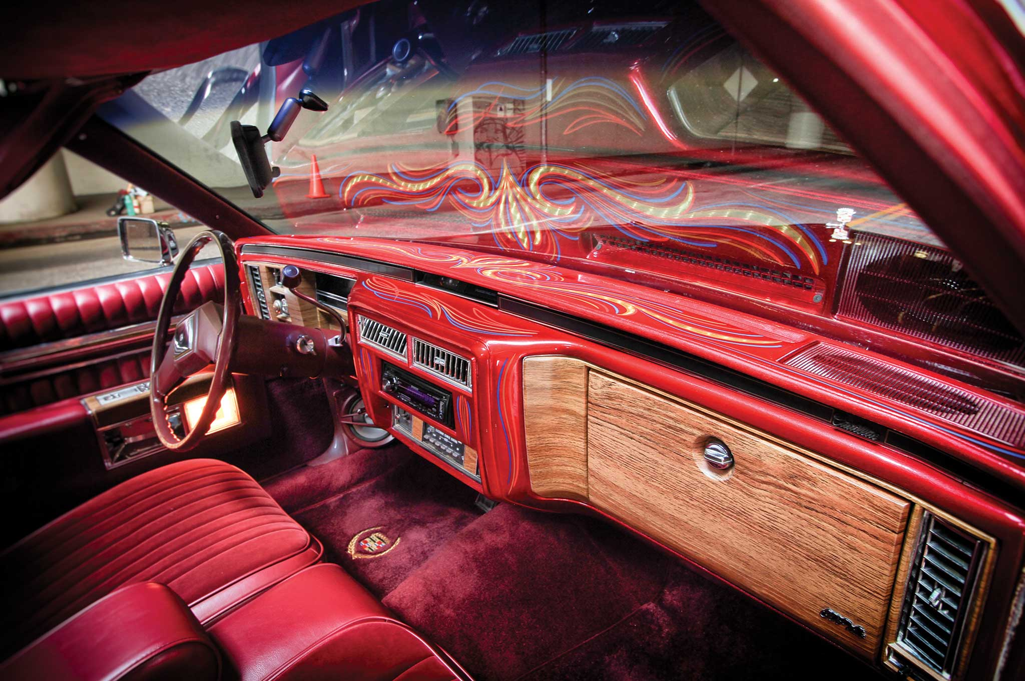 Cadillac Coupe Deville Dashboard