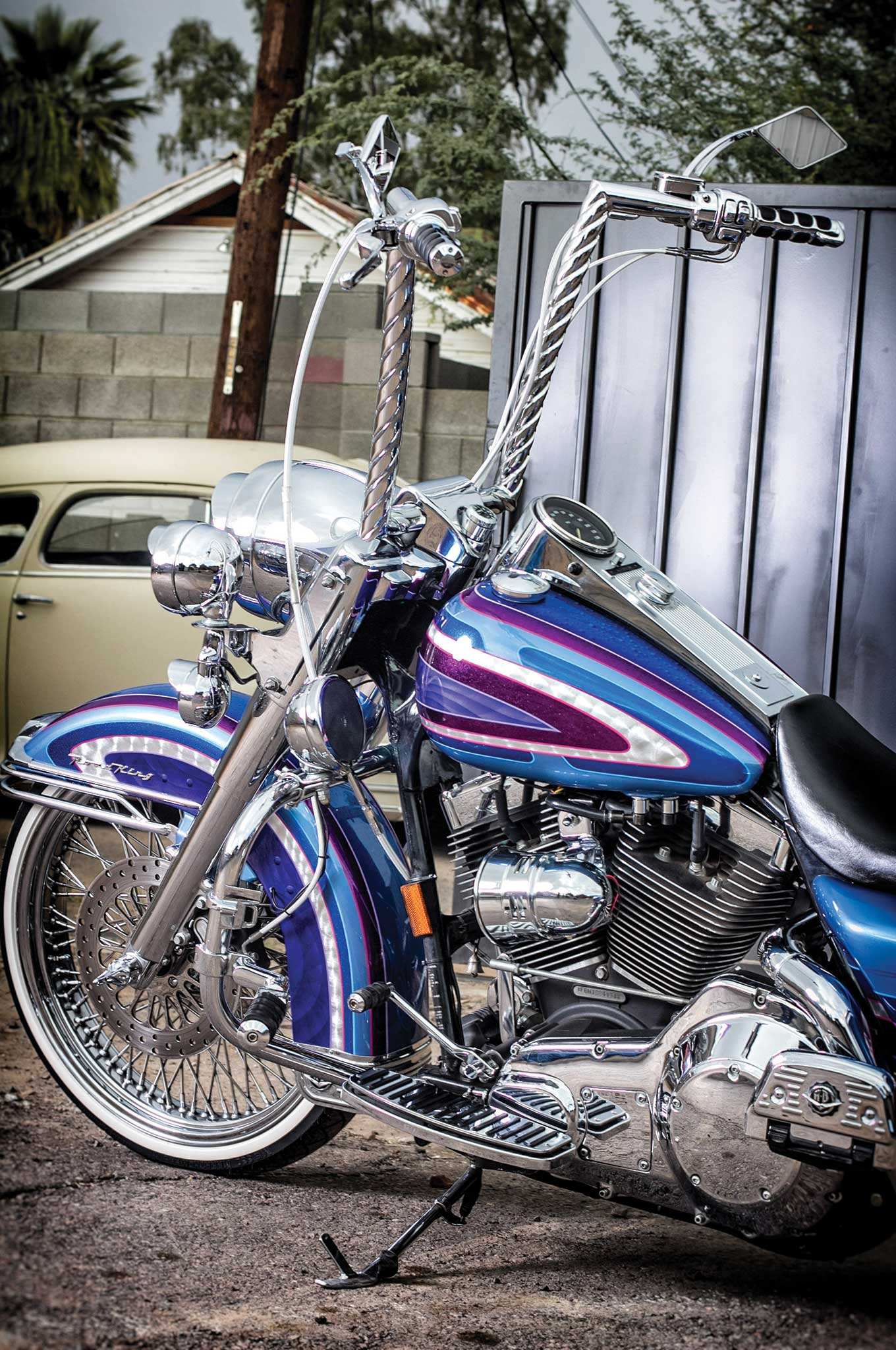 2001 Harley Davidson Road King Old Habits Die Hard
