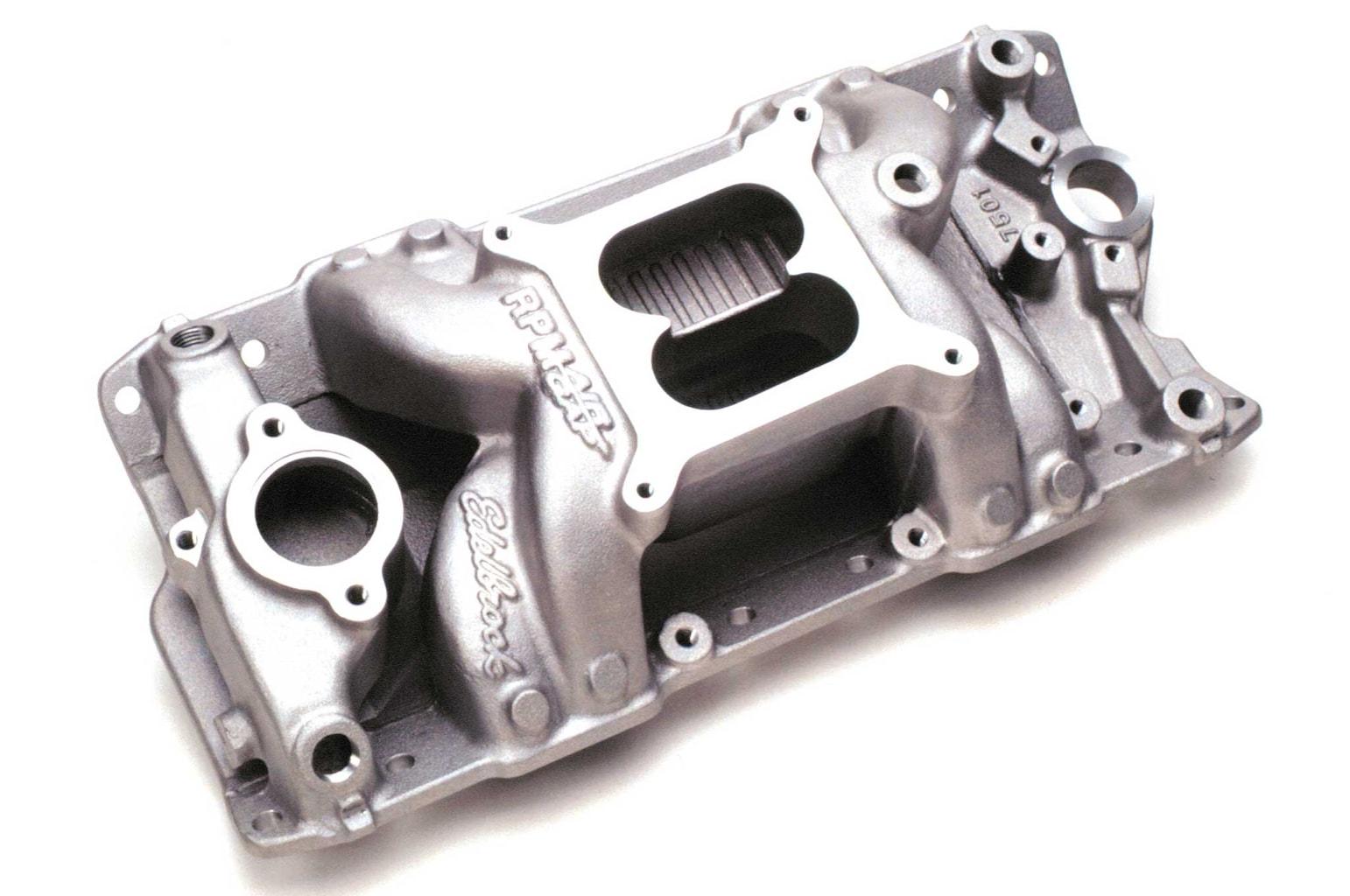 edelbrock intake manifolds rpm air gap 004