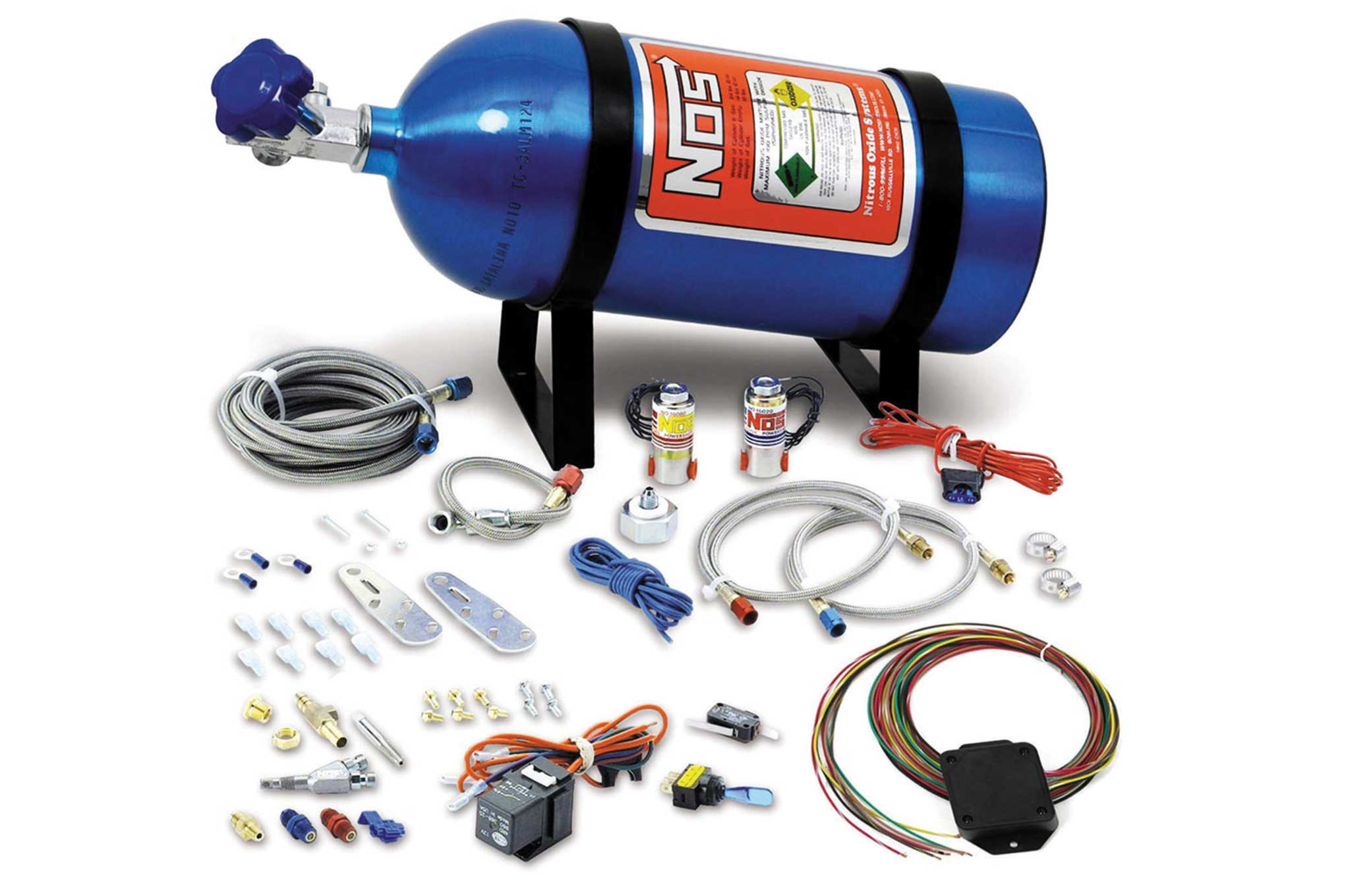 holley ls engine accessories universal drive by wire wet nos kit