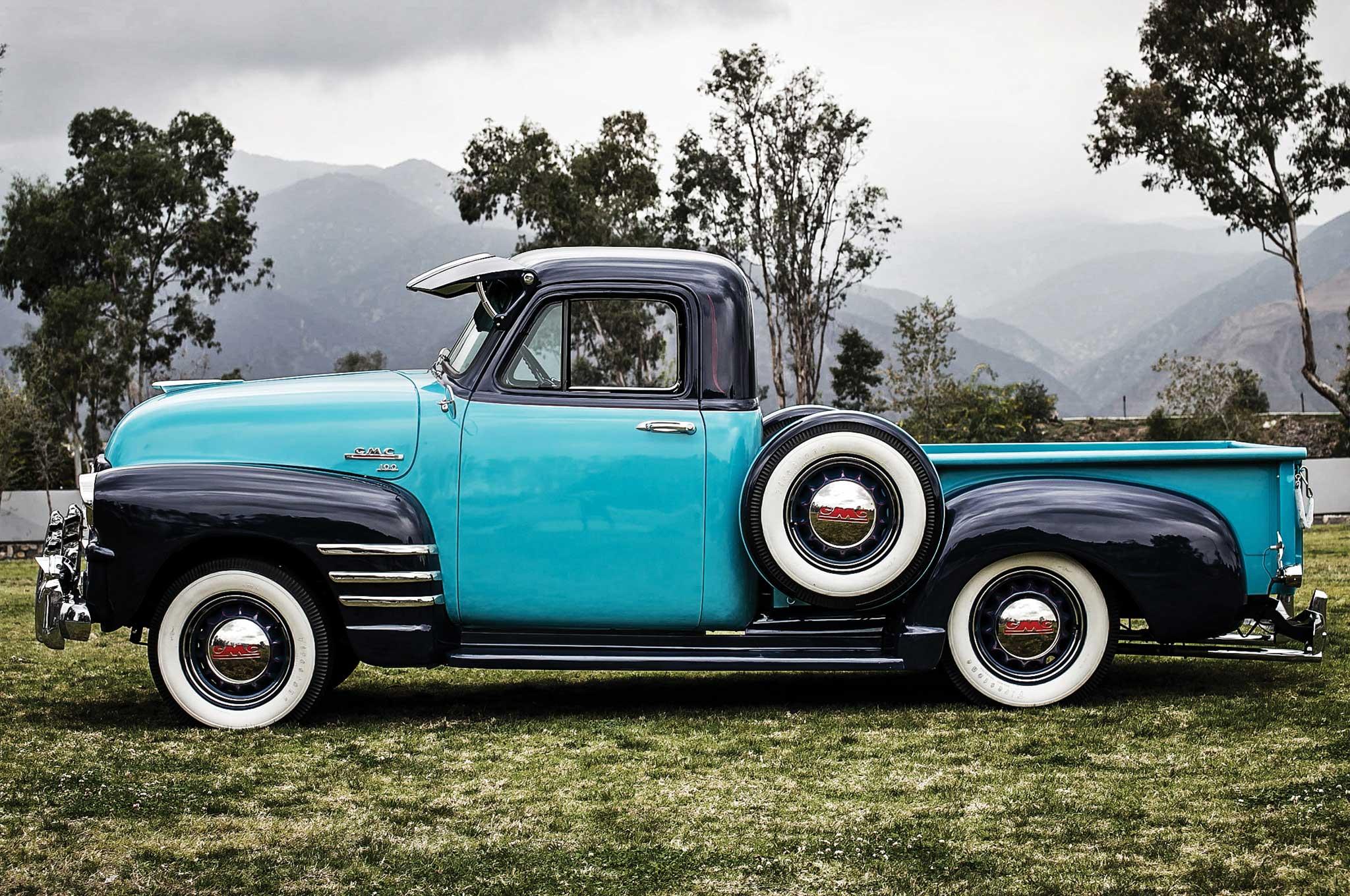 1954 gmc pickup driver side profile 006