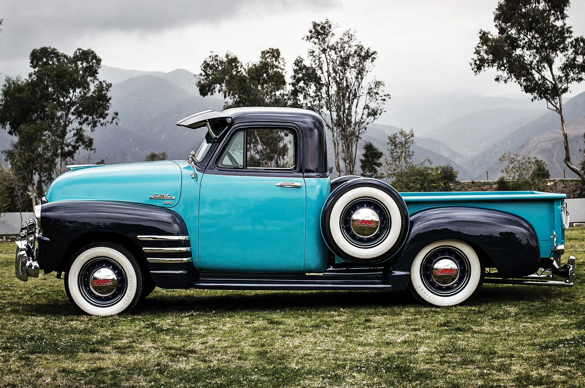 Chevy Truck Wheels >> 1954 GMC Pickup - Generational GMC - Lowrider