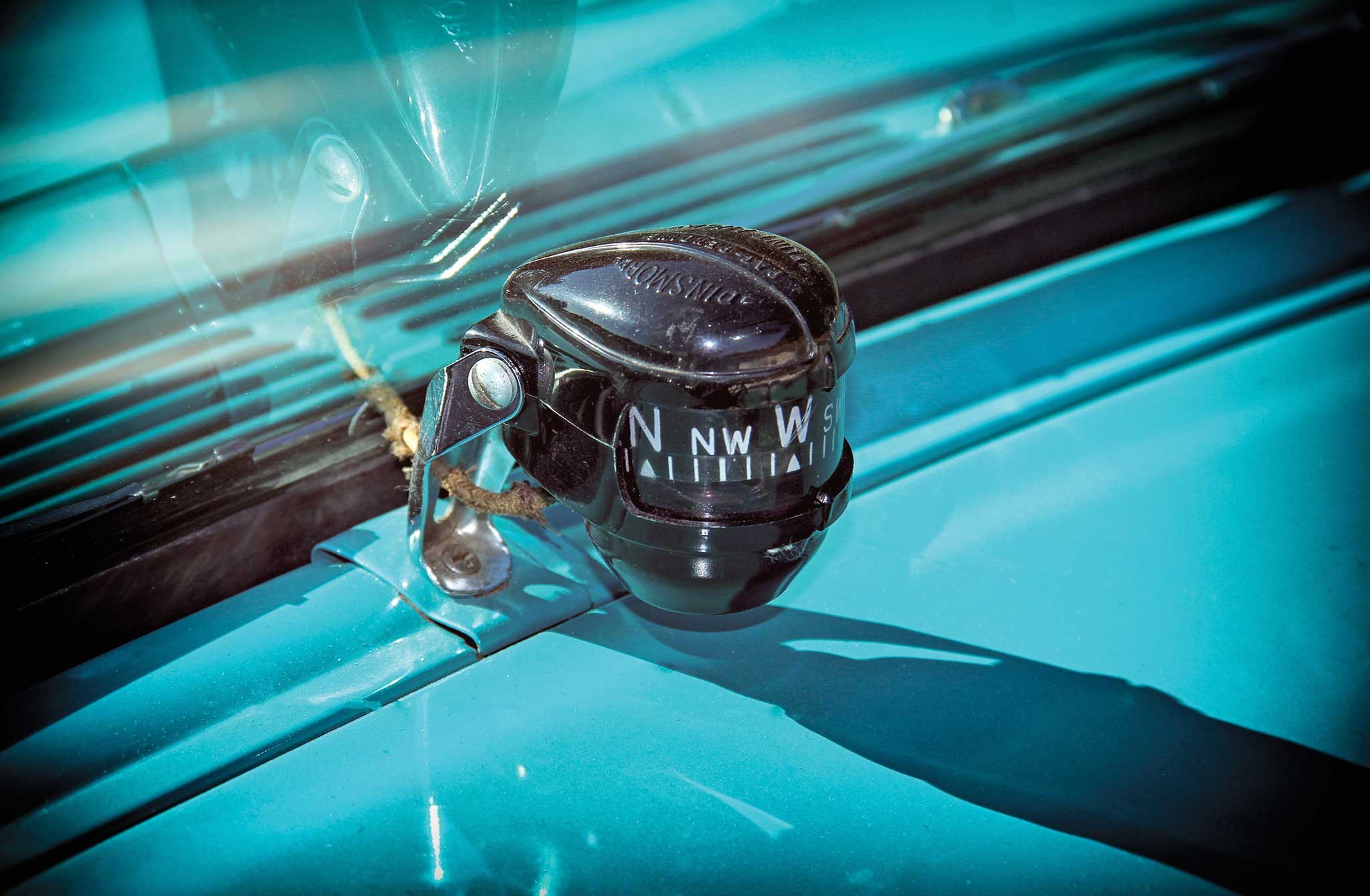 1955 chevy bel air convertible dash compass 003