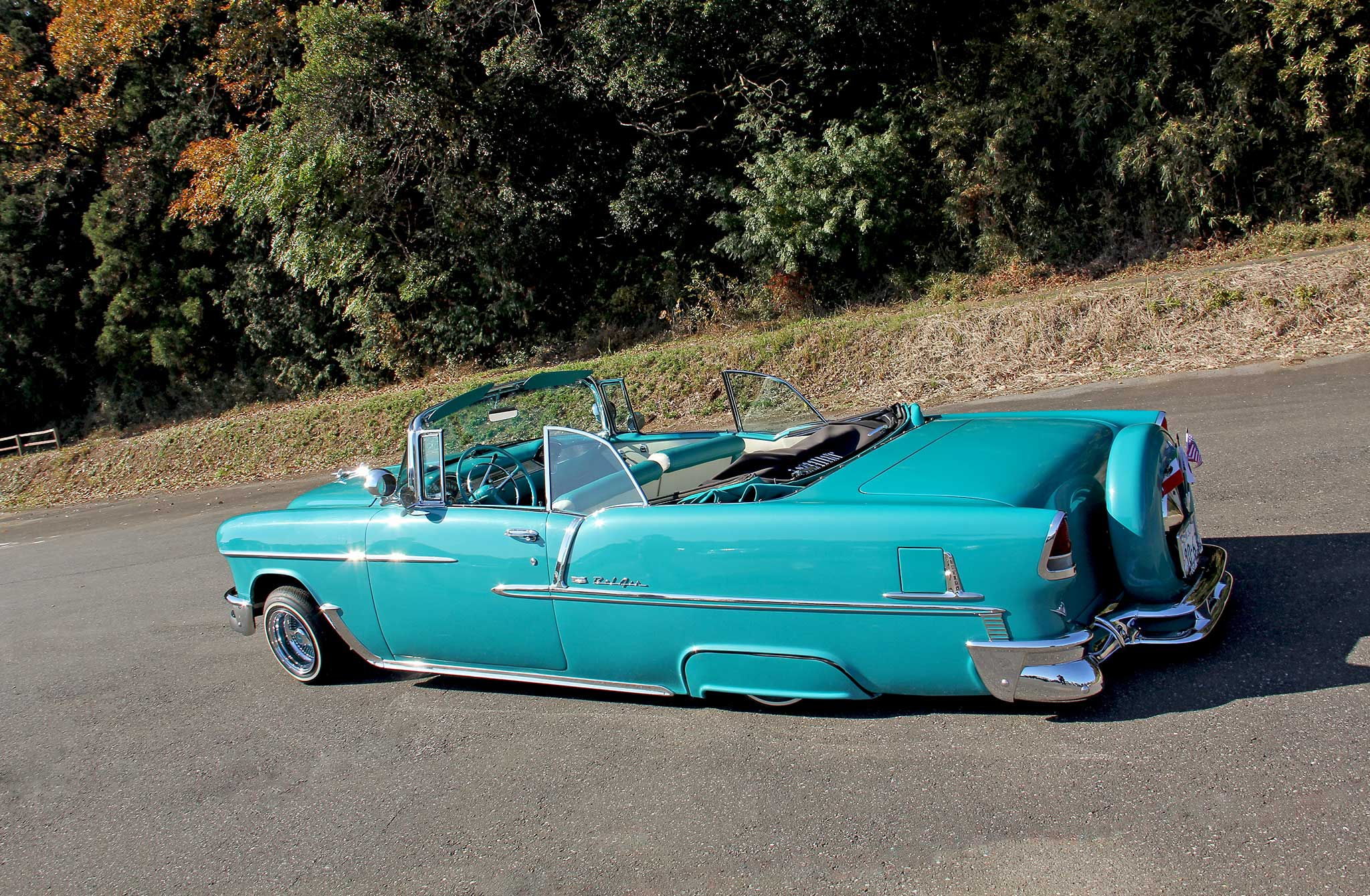 2016 Chevy Monte Carlo >> 1955 Chevy Bel Air Convertible - American Classic in Japan - Lowrider