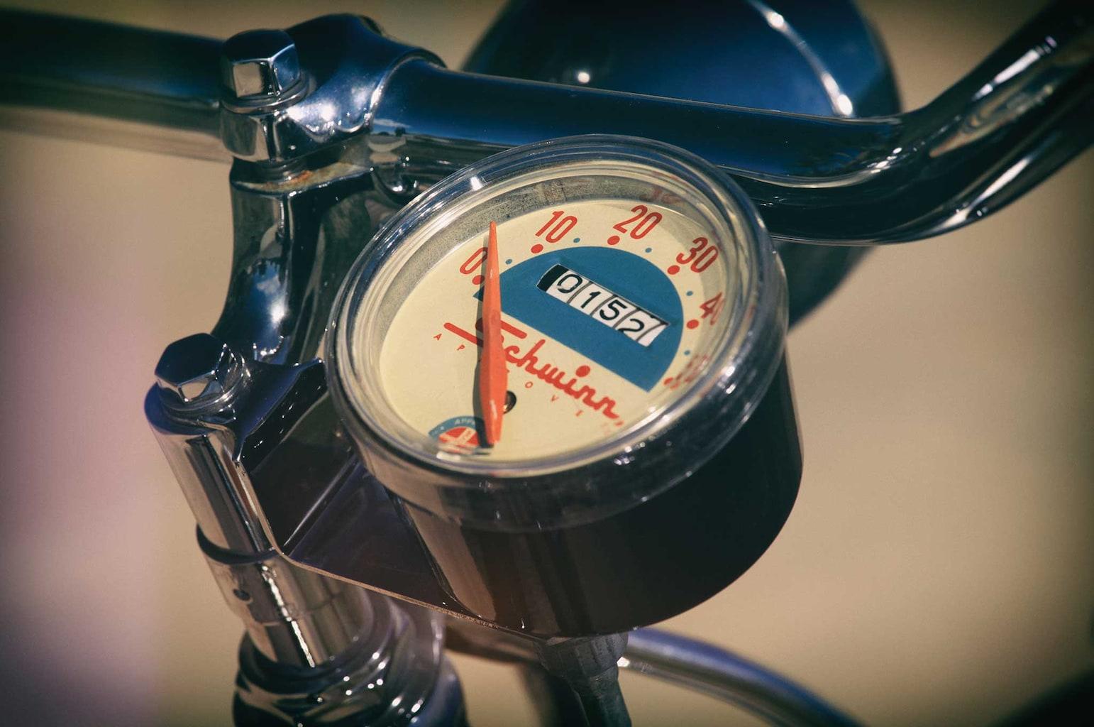 1959 schwinn speedster speedometer