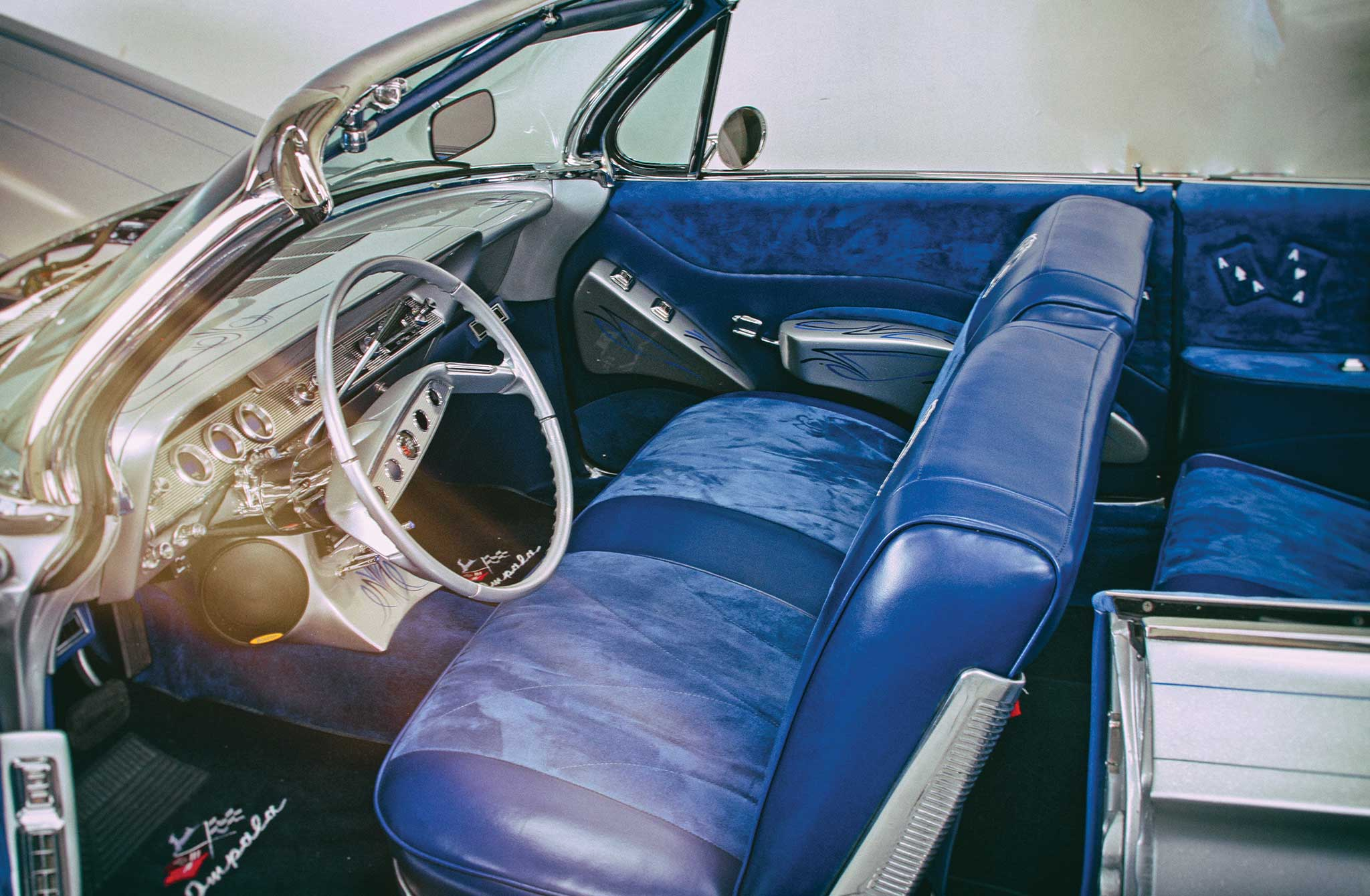 1961 Chevrolet Impala Convertible Aces Low Lowrider