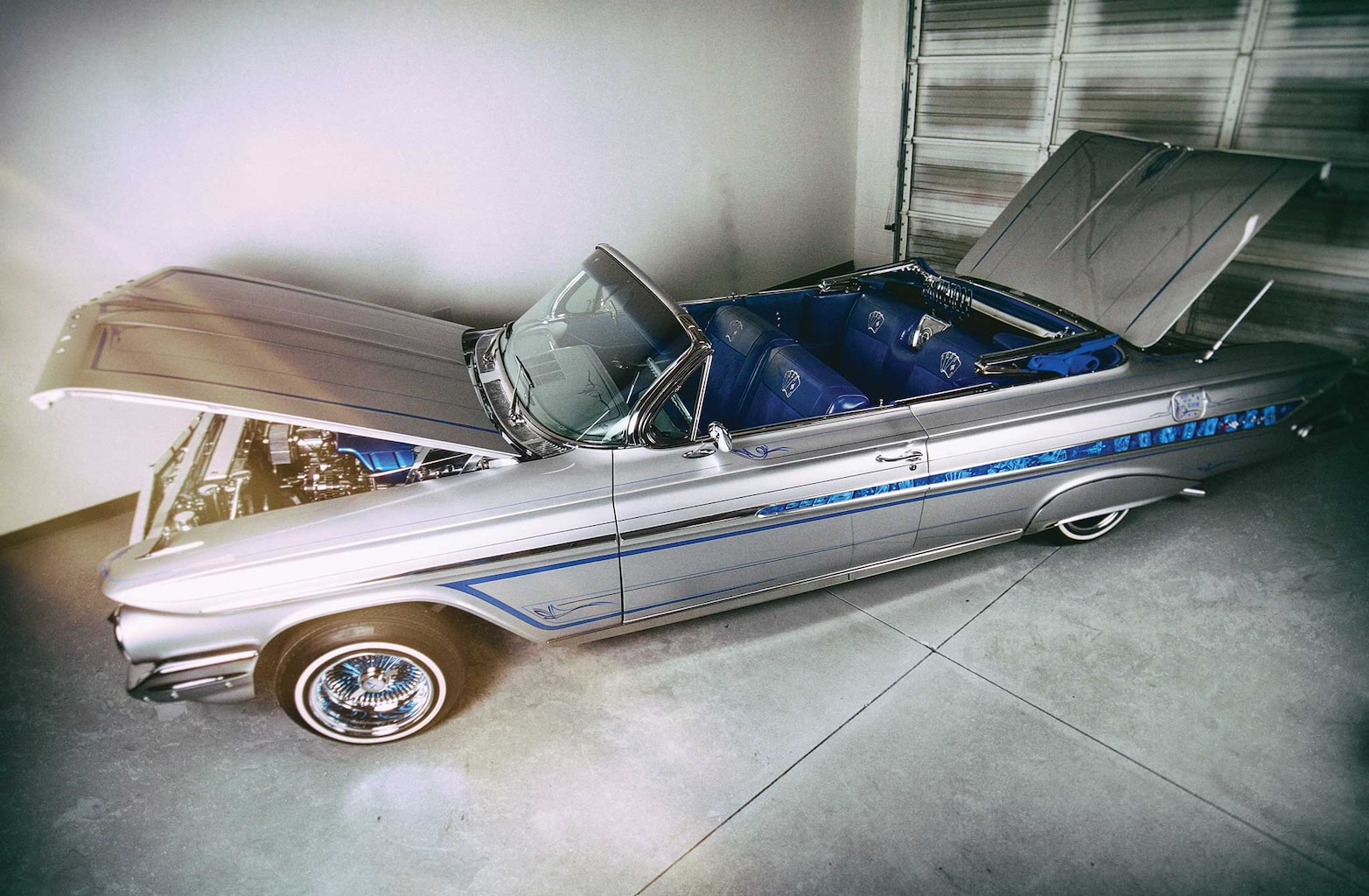 1961 chevrolet impala convertible driver side view 005