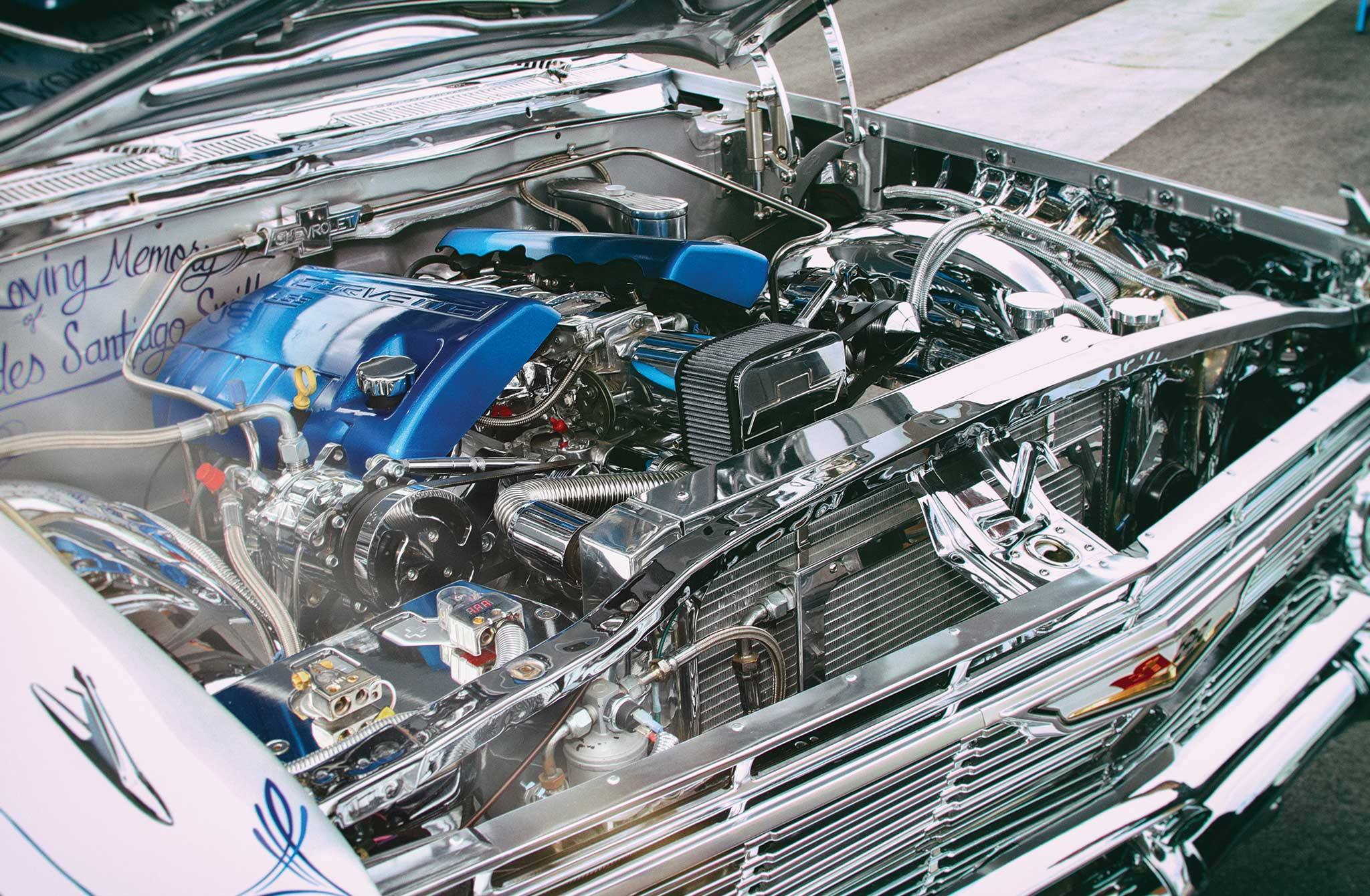 1961 chevrolet impala convertible ls3 engine 001