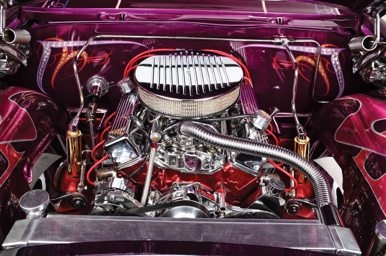 1962 chevrolet impala ss 350 engine 009