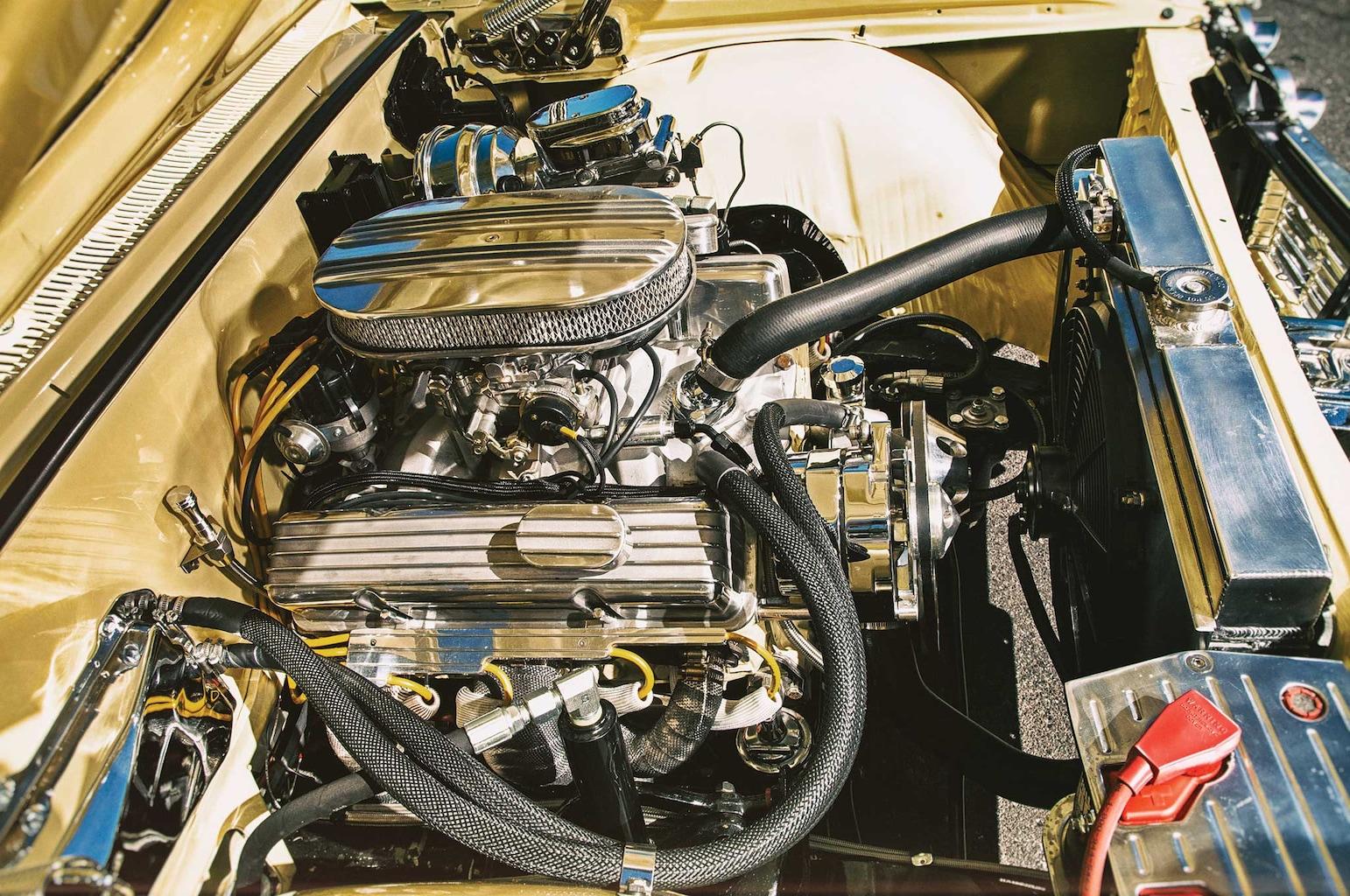 1964 chevrolet impala 350 crate motor 004