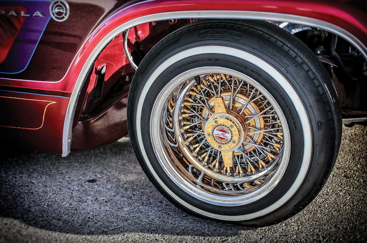 1966 chevrolet impala triple gold og zenith wire wheels 009