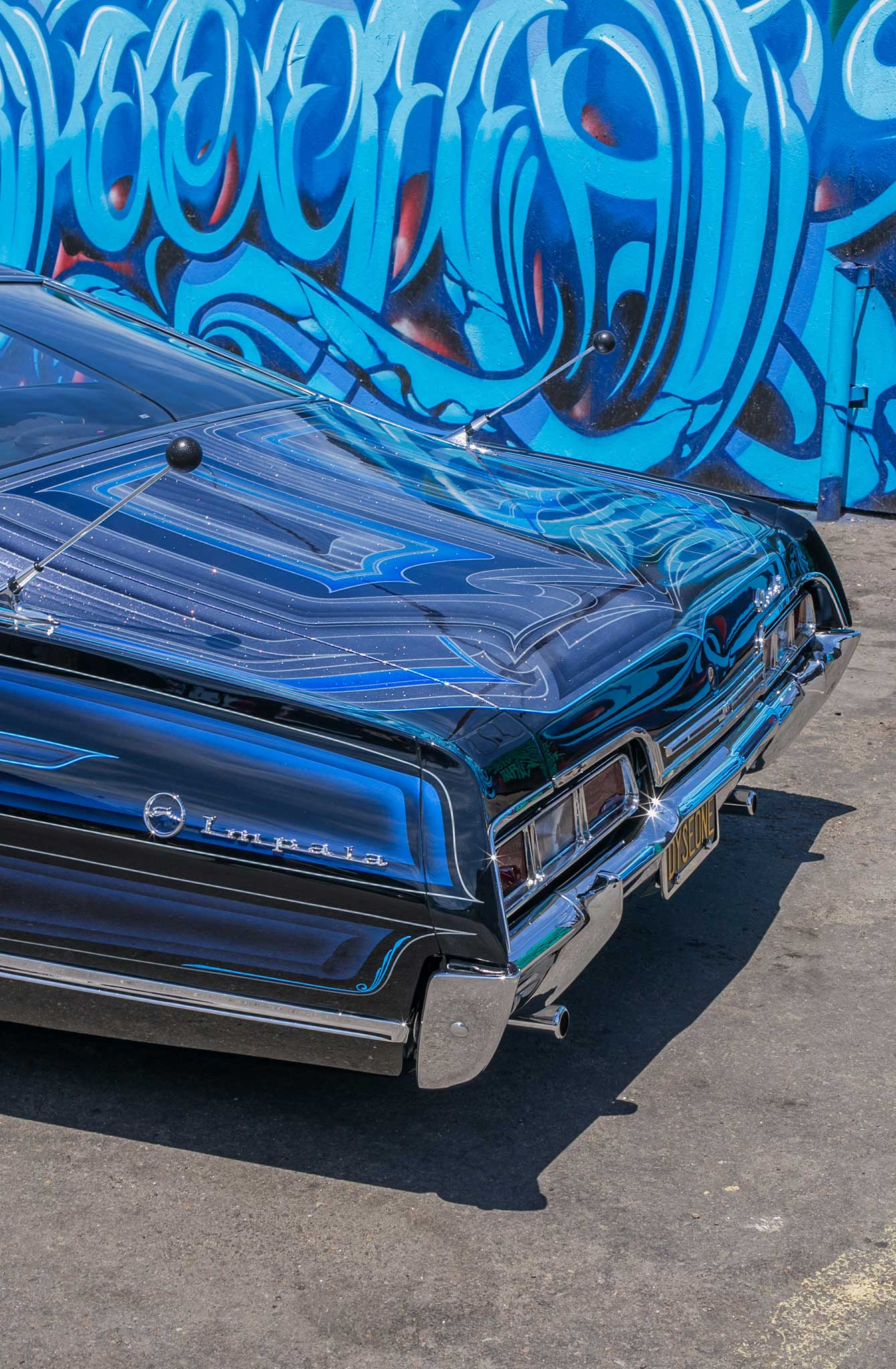1967 chevrolet impala rear bumper 019